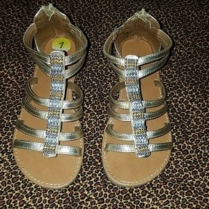 Other - Little girls gold beaded sandals
